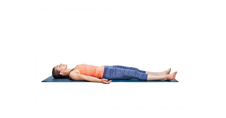 Jót Savasana jóga és hogyan kell csinálni