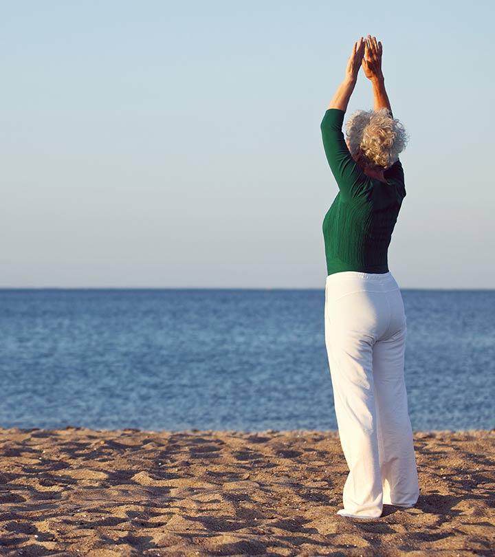 10 Učinkovito joga predstavlja za ženske, starejše od 60