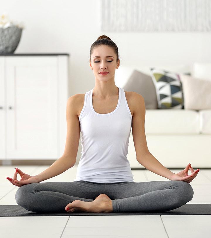 10 В сила от йога пози да лекува Безпокойство