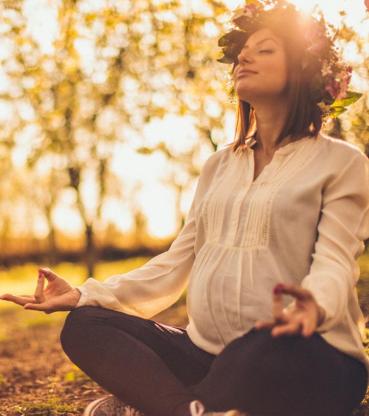 Şaşırtıcı Hamile Yogası Asana'lar Doğum Kolay yapacaktır