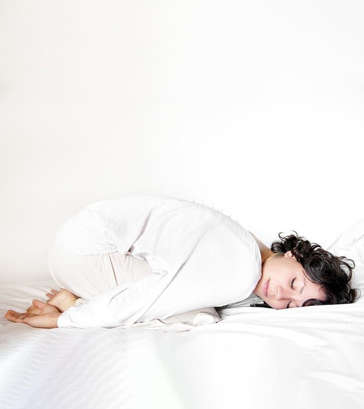 Yoga calmante poses que ayudarán a combatir el insomnio