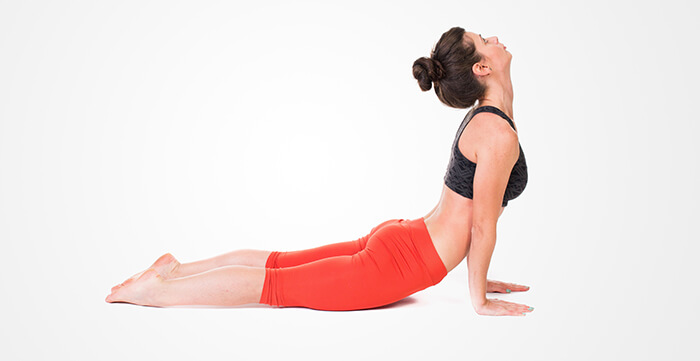 3. Cobra Pose Or Bhujangasana: