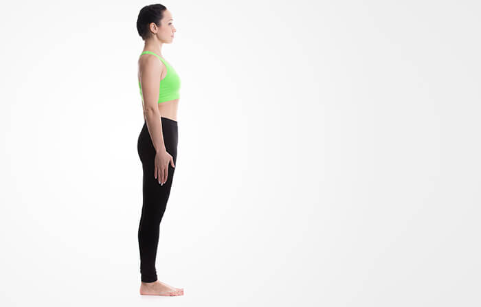 The Mountain Pose Or Tadasana