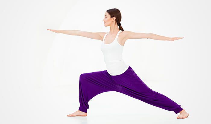 4. Warrior Pose Или Virabhadrasana: