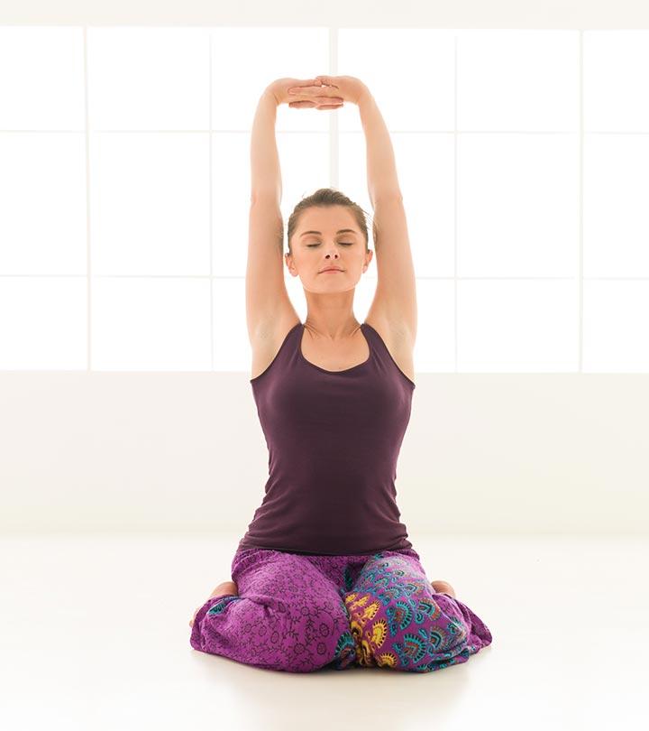 Yoga eficaz Poses para tratar a menopausa