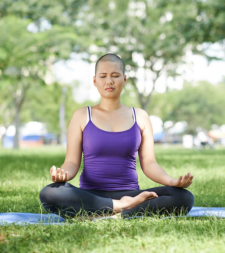 6 Пози Йоги, які допомагають з грудьми відновленням раку