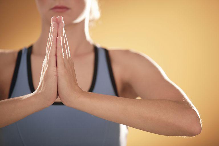 Gestos de mão de Mudra em Yoga