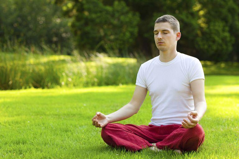 Verwenden Sie Sama Vritti Pranayama Stress zu reduzieren