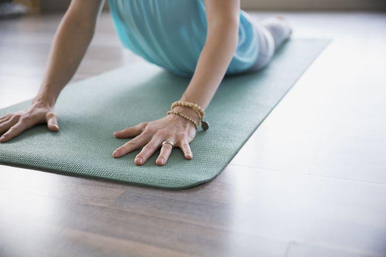 Sådan Fix en Slippery yogamåtte